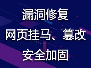 专业云服务商中科九洲-服务器漏洞修复||安全加固优化||网页挂马