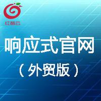 移动站  广州红莓云 · 响应式官网定制(国外版)【网站建设、做网站】