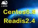 上海魁云-<em>Centos</em>6.8 Readis2.4<em>安装</em>架构