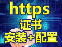 专业代购配置HTTPS配置SSL证书 加密证书安装服务