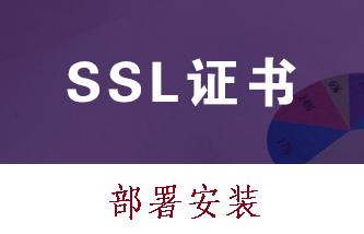 HTTPS部署 SSL数字证书配置 安装SSL证书