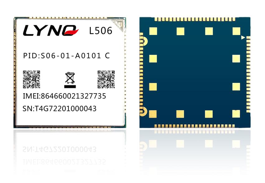 阿里云IoT移柯LTE物联网模块LYNQ_L506