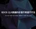 BDOS大数据操作系统社区版<em>Bootstrap</em>镜像1.1版