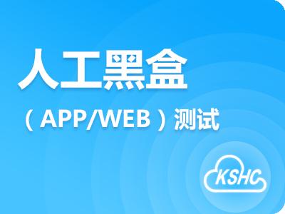 人工黑盒(APP、WEB)测试