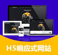 【H5响应式网站】网站建设 一次性收费 提供源代码 可二次开发 企业官网、 网站定制开发、手机网站、网站建设、网站制作