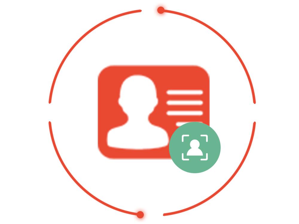 翔云-实名核验、人证合一(对比)验证,现场人脸证件核查持证人身份【图像身份验证】
