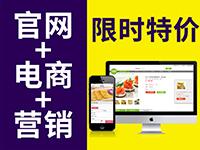 【官网+电商】高品质完美展示,营销型网站,在线支付,客户管理,活动促销