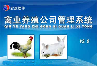 宏达禽业养殖公司管理系统