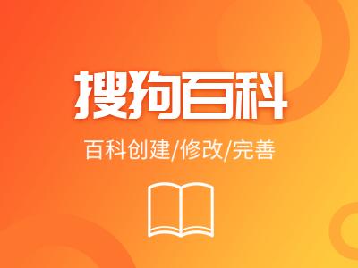 搜狗百科创建人物品牌企业百科网络推广