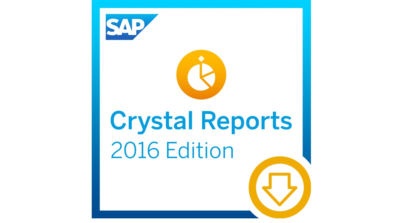 SAP Crystal Reports (水晶报表) 2016