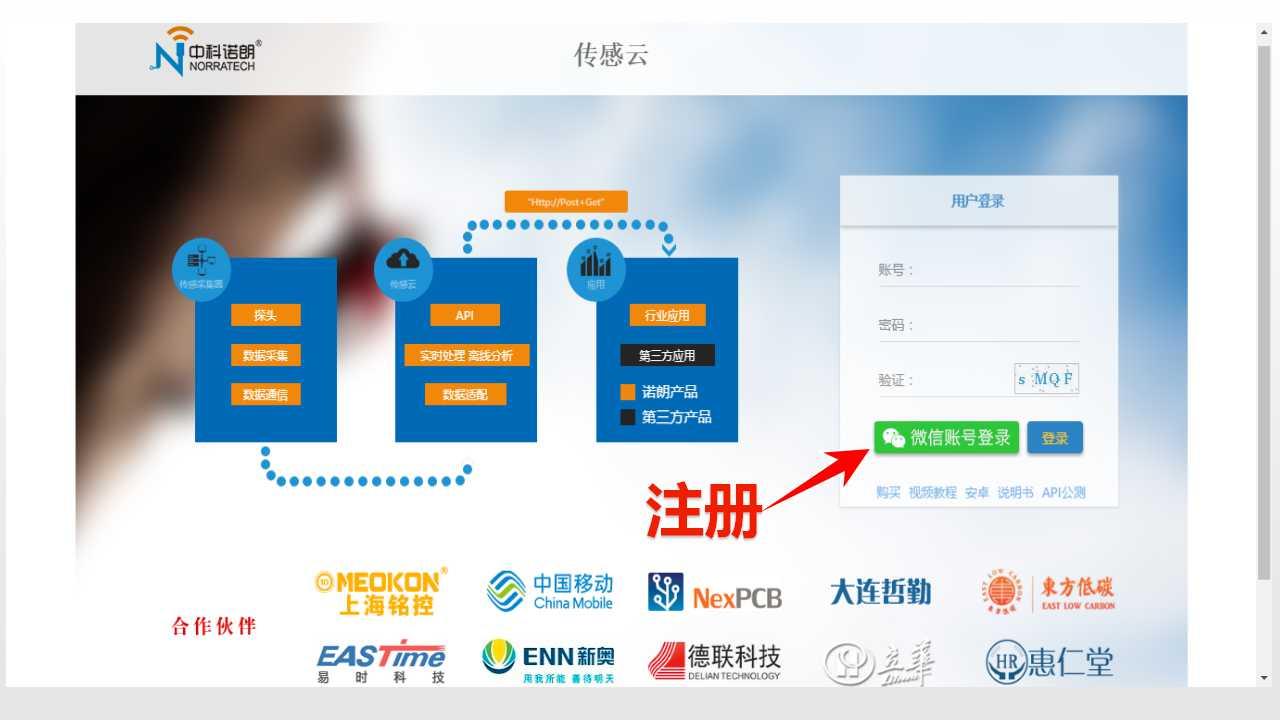 独立域名传感云应用平台