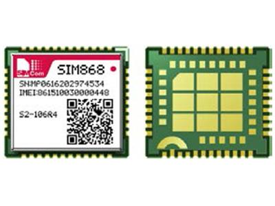 芯讯通GSM/GPRS+GNSS模组SIM868