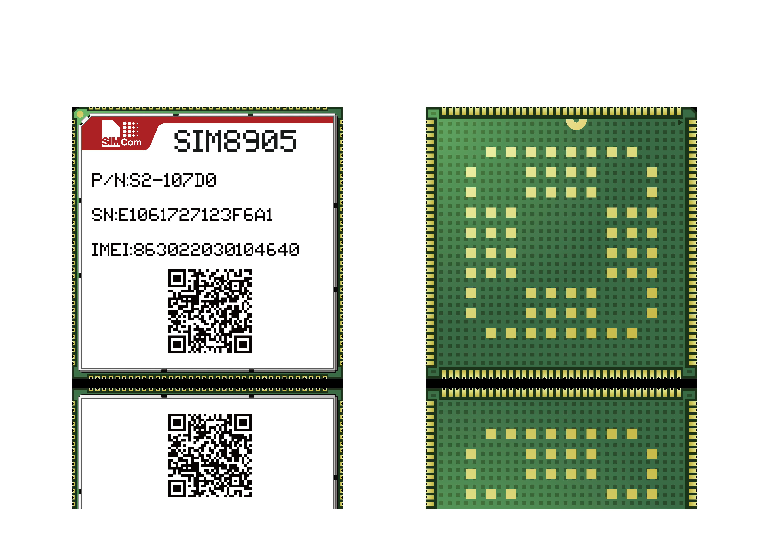 SIMCOM芯讯通LTE 4G CAT4智能模组SIM8905