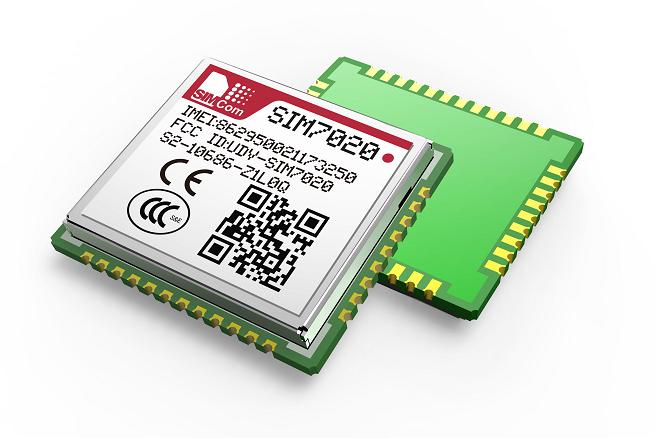 SIMCOM芯讯通单模多频NB-IoT模组SIM7020