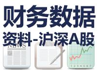 沪深A股财报数据资料