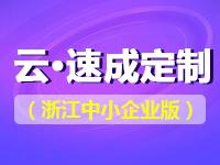 云·速成定制(浙江中小企业版)