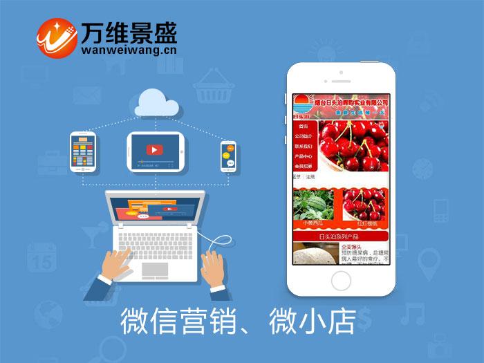 公司微信模板 微信营销 微小店 微信商城 微分销 企业文化移动营销平台