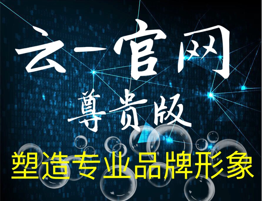 【爆款•尊贵版】官网型(PC+手机)