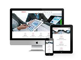 智慧云含响应式网络设计公司网站(自适应手机端)